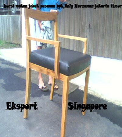 Kursi Makan Jebok Eksport Singapore