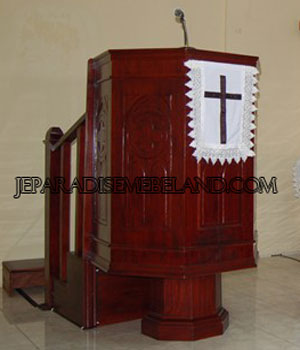 Podium Gereja,Podium Gereja Jati,Podium Gereja Minimalis